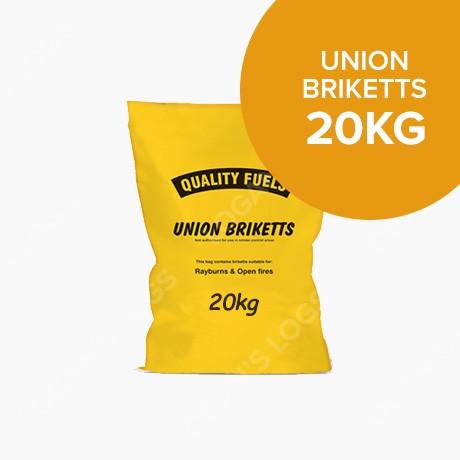 20kg Bags of Union Briquettes