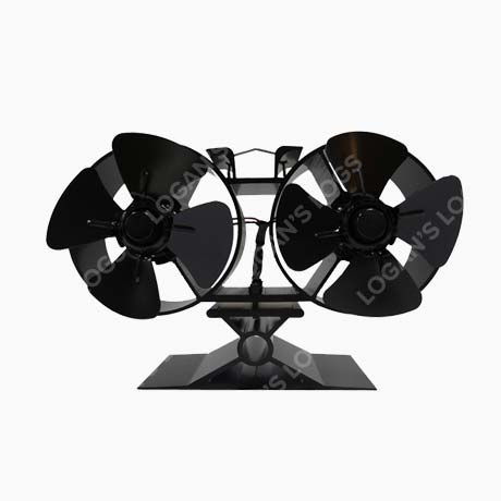 2 x 4 Blade Stove Fan