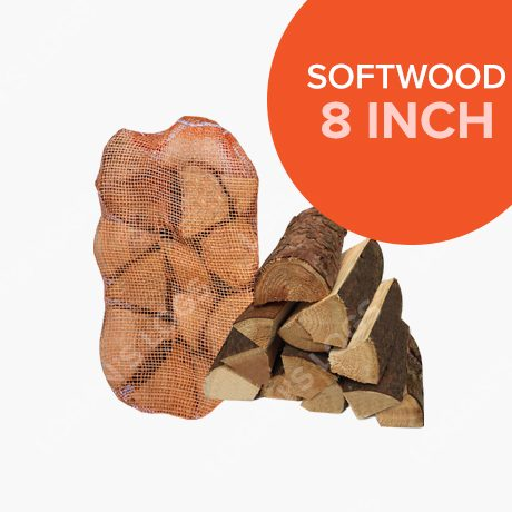 Kiln Dried Softwood Netted Logs