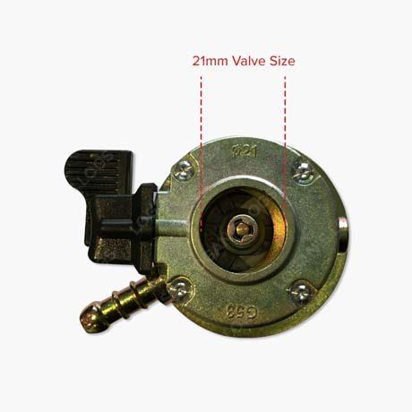 Continental-Clip-On-Butane-Regulator-valve-21mm