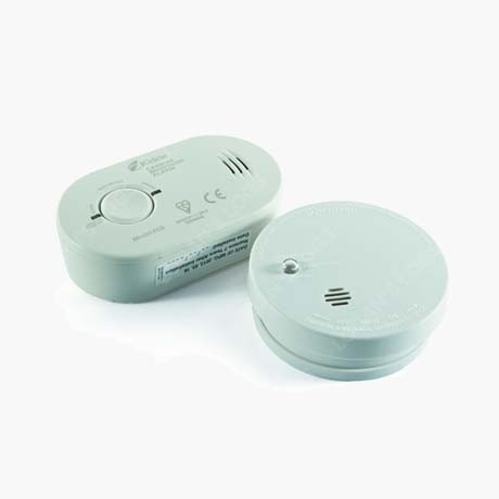 Kidde 1SA-UK Combination Smoke & CO Alarm Twin Pack