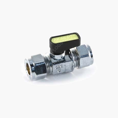 Mini Gas Ball Valve – 8mm Compression