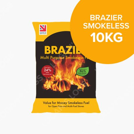 10kg Bags of Brazier Smokeless Fuel