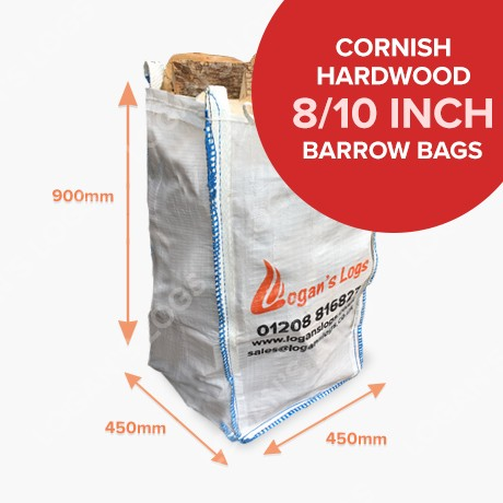Barrow Bags of Kiln Dried Hardwood
