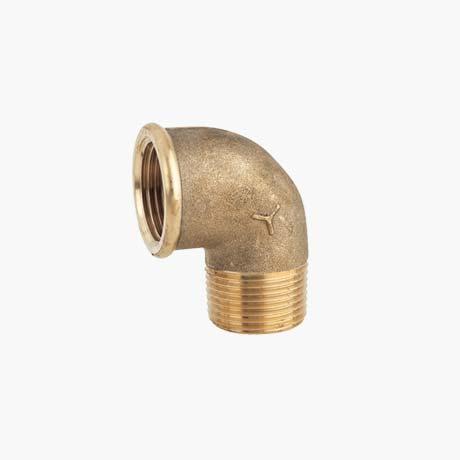 Brass Threaded Elbow – 1/2″