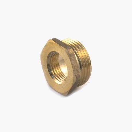 Brass Threaded Hexagon Bush