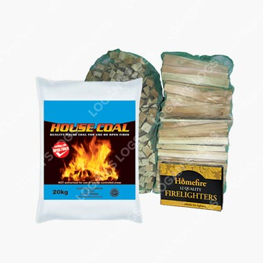House Coal, 2 FREE Kindling, 1 FREE Firelighters