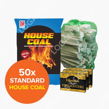 Special Offer - 50x Bags of House Coal