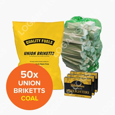 Special Offer - 50x Bags of Union Bricketts