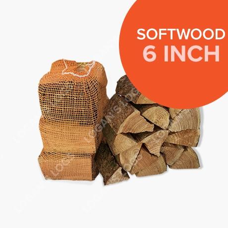 Kiln Dried Softwood Cottage Logs