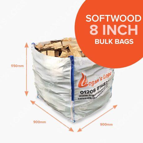 Bulk Bags of Kiln Dried Softwood