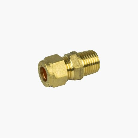 "6mm Compression x 1/4"" Bsp Male T"
