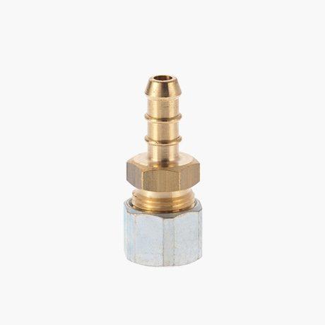 Fulham Gas Hose Nozzle x 10mm Compression