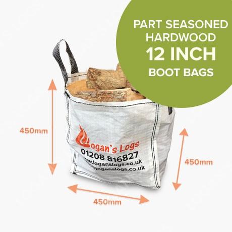 Boot Bags - Part Seasoned Hardwood