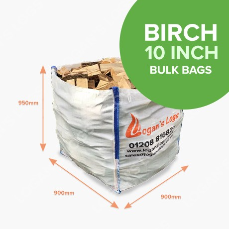 Bulk Bags of Kiln Dried Birch