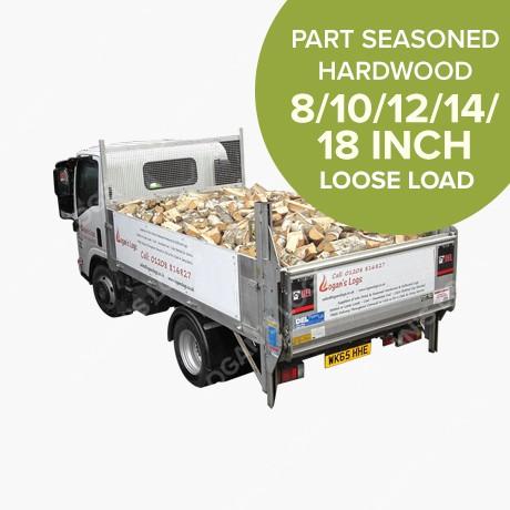 Loose Load - Part Seasoned Hardwood