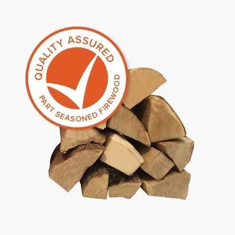 Quality Assured Part Seasoned Logs
