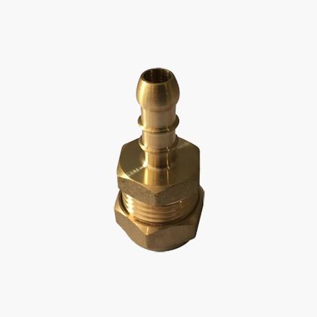 15mm Copper Compression to 8mm Hose Nozzle