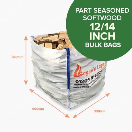 Bulk Bags - Part Seasoned Softwood