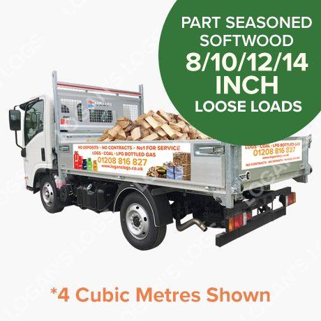 Loose Load - Part Seasoned Softwood