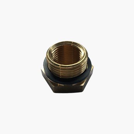 Brass Threaded Hexagon Reducer-3-4-1-2-seal