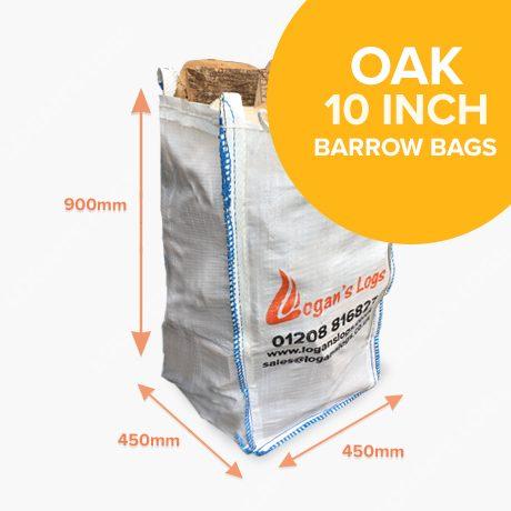 Barrow Bags of Kiln Dried Oak Hardwood