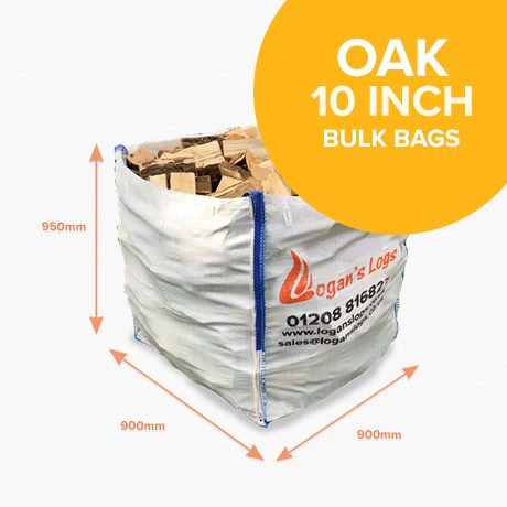 Bulk Bags of Kiln Dried Oak