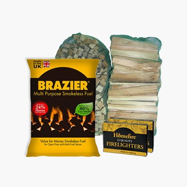 Brazier, 3 FREE Kindling, 2 FREE Firelighters