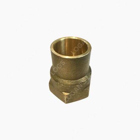 "brass 22mm solder 1"" male straight connector"