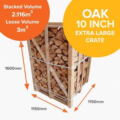 Kiln Dried Oak in Crates