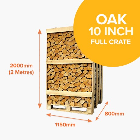 Kiln Dried Oak in Full Crates