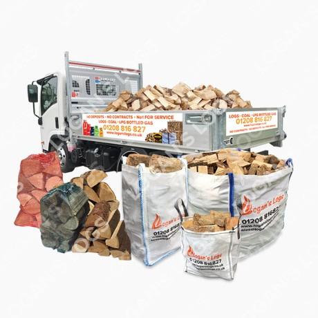 Part Seasoned Firewood