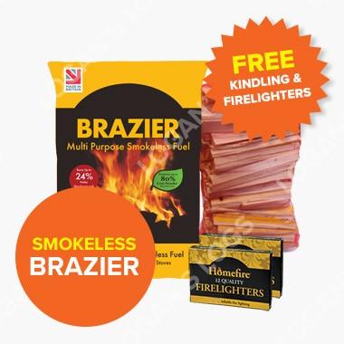 Summer Sale: Brazier Smokeless fuel
