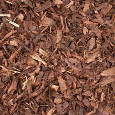 Premium Bark Mulch - Closeup
