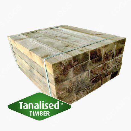 Tanalised Softwood Sleeper - Short.