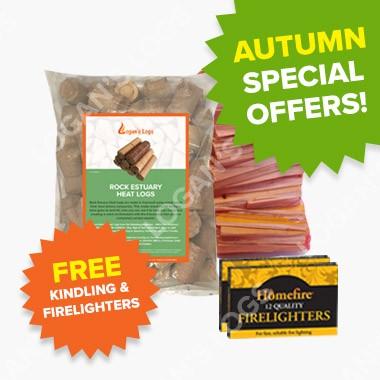 Autumn Offers - Rock Estuary Heat Logs